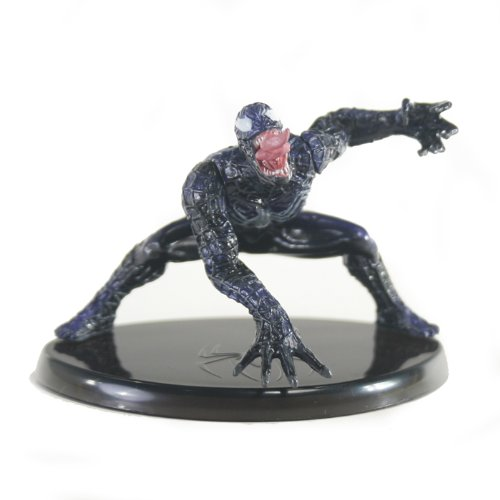 Picture of Bandai Chozoukei Damashii Spiderman 3 Trading Figure - Venom (squatting) (B0052ZGKHA) (Spider-Man Action Figures)