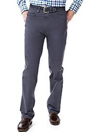 Blue Harbour Cotton Rich Regular Fit Straight Leg Chinos