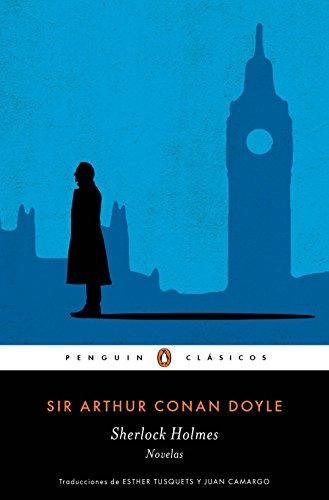Portada del libro Sherlock Holmes. Novelas de Sir Arthur Conan Doyle