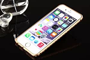"Apple Iphone Luxury Diamond Bling Metal Bumper Case Cover For iPhone 6 4.7"" -GOLD"