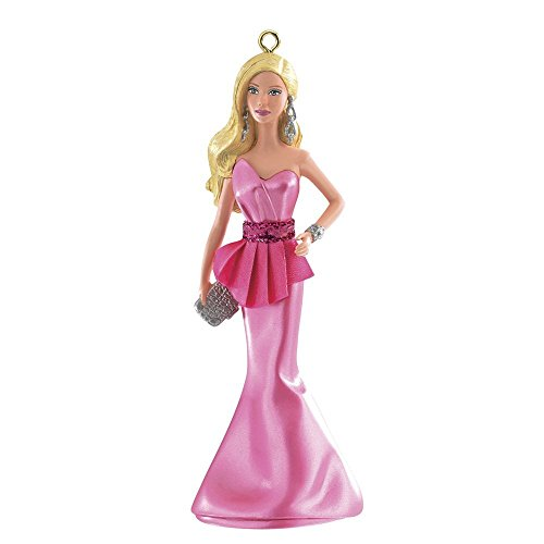 The Barbie Look Red Carpet Barbie 2014 Carlton Heirloom Ornament