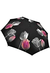 Galleria Tulips Folding Umbrella (Tulips)