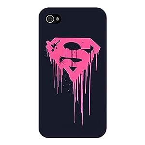 Jugaaduu Superheroes Superman Back Cover Case For Apple iPhone 4