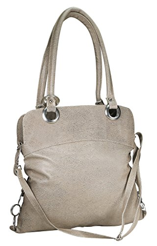 Klazo KL-57 Women's Handbag (Beige) (SR-KL-57)