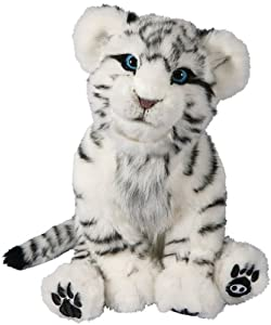 WowWee 9008 Peluche Interactive Tigre Blanc Cub: Jeux