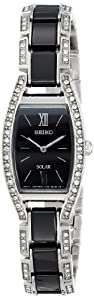 Seiko Women's SUP223 Analog Display Japanese Quartz Black Watch