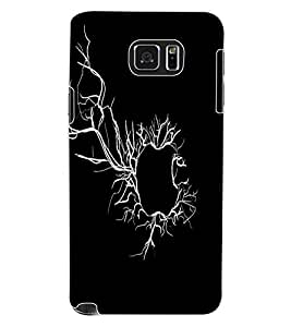 ColourCraft Creative Fruit Image Design Back Case Cover for SAMSUNG GALAXY NOTE 5