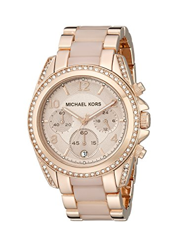 Michael Kors Mk5943 39mm Multicolor Steel Bracelet & Case Mineral Women's Watch