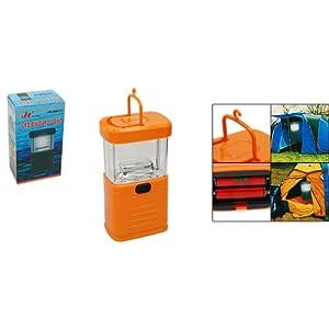 Como 11 LED Orange Bivouac Camping Lantern Light Lamp
