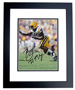 Barkevious Mingo Autographed Hand Signed LSU Tigers 8x10 Photo - BLACK CUSTOM FRAME by Real+Deal+Memorabilia