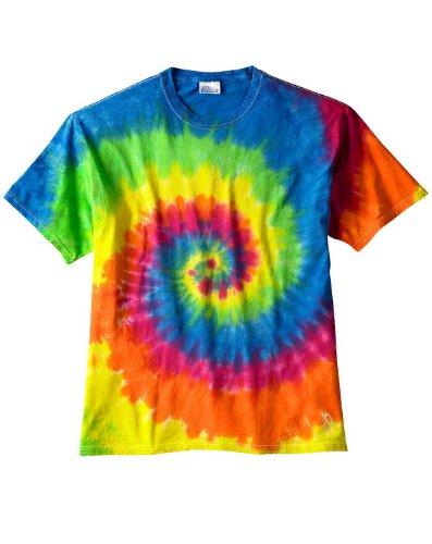 Bullshirt - Top - Tie-Dye - Donna Rainbow Large