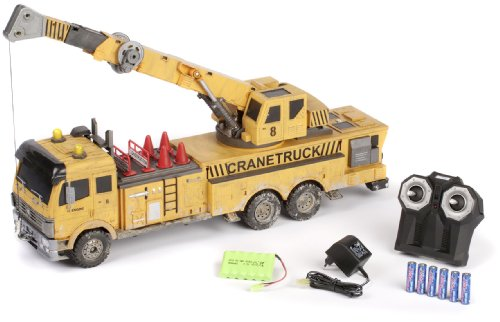 Hobby Engine Premium Label Crane Truck