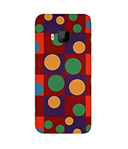 Polka Block HTC One M9+ Case