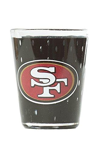 NFL San FranCisco Premium Heavy Base 2.0 oz Colored Shot Glass