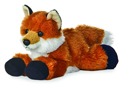 "Foxie Fox Mini Flopsie 8"" by Aurora"