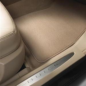 GM # 25949816 Floor Mats - Front & Rear Carpet Replacement Set - Cashmere