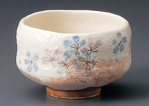 Heian-Sakura 3.8Inches Matcha Bowljiki Japanese Original Porcelain