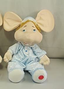 18 Quot Blue Praying Topo Gigio In Spanish Plush Doll Toy
