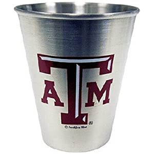 Texas A & M Shotglass (Ss) A&M - Case Pack 48 SKU-PAS386083