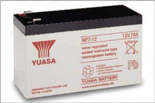Yuasa NP7-12 12V 7AH Battery