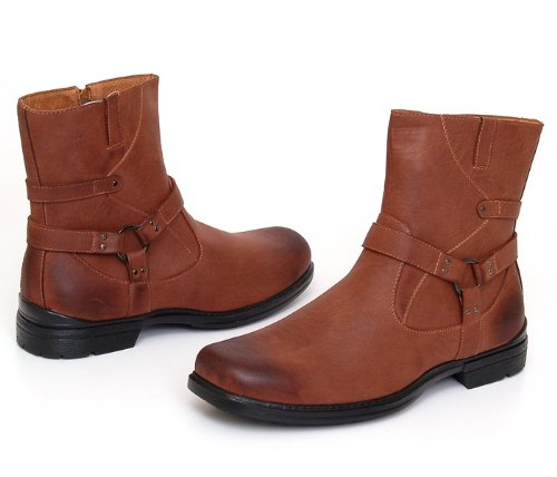 Men's Casual Ankle Boots, Leather Lined Fashion