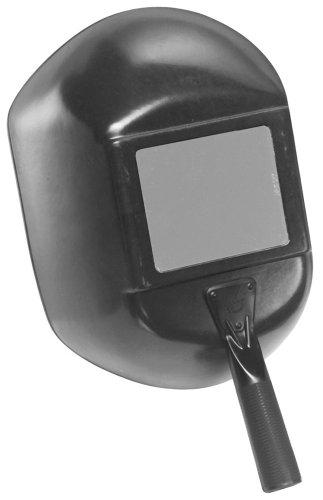 "Jackson Safety 14967 W20 H500 Black Fiberglass Handshield, 5-1/4"" Length x 4-1/4"" Width (Pack of 1) by Kimberly Clark"