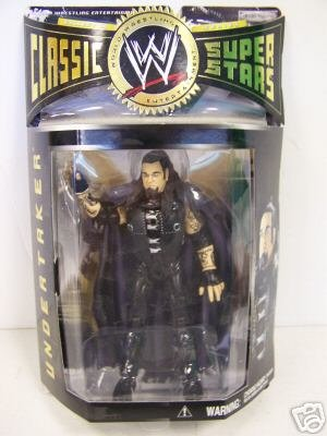 WWE Classic Superstars Collector Series Figure: Ministry Undertaker - Buy WWE Classic Superstars Collector Series Figure: Ministry Undertaker - Purchase WWE Classic Superstars Collector Series Figure: Ministry Undertaker (Jakks, Toys & Games,Categories,Action Figures,Collectibles)