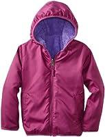 Pink Platinum Little Girls'  Nylon Reversible Sherpa Fleece