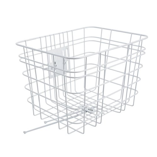 Electra Cruiser Wire Bicycle Basket (White)