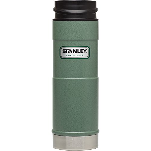 Stanley Classic One Hand Vacuum Mug 16oz/473 mL - Hammertone Green (Thermos Bottle Stanley compare prices)