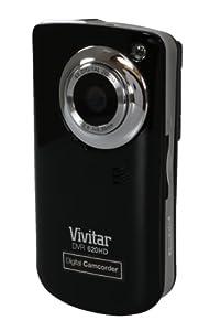 "Vivitar Flash Memory 5.1MP Camcorder with 1.8"" Monitor - Black"