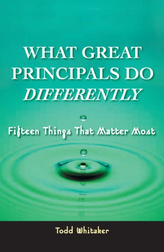 What Great Principals Do Differently: 15 Things That...