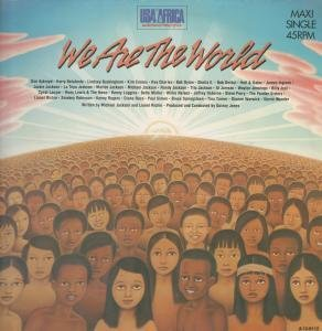 WE ARE THE WORLD 12 INCH (12 VINYL) DUTCH CBS 1985