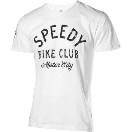 Image of Twin Six Speedy Motor City T-Shirt - Short-Sleeve - Men's (B007K6AK5C)