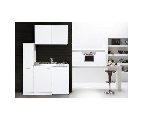 Details for respekta Miniküche 130x60 mit Cerankochfeld + Oberschränke MK 130 WOSC zu Respekta