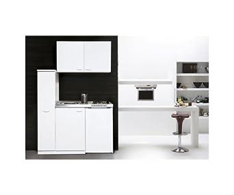 baumarkt direkt minik che mit glaskeramikkochfeld und k hlschrank breite 130 cm ohne. Black Bedroom Furniture Sets. Home Design Ideas
