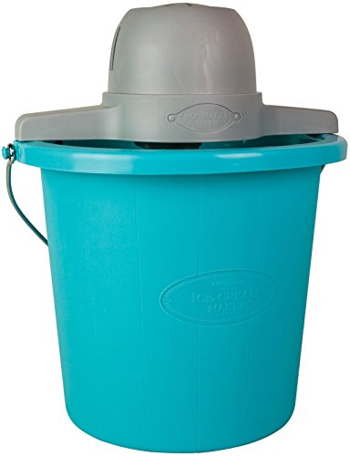 Nostalgia ICMP400BLUE Vintage Collection 4-Quart Electric Ice Cream Maker