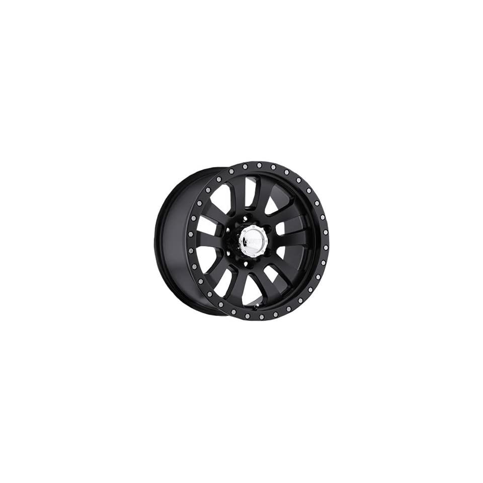 American Eagle 63 18 Matte Black Wheel / Rim 8x6.5 with a  12mm Offset and a 130.18 Hub Bore. Partnumber 6389988