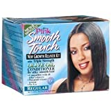 Lusters Pink Smooth Touch New Growth Relaxer, Regular 1 Kit (Pack Of 2)