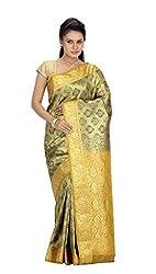Srinidhi Silks Beige Silk Sari (Ssi New 0955)
