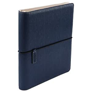 "Wilson Jones Cut and Sewn Binder, Round Rings, 1"", Navy Blue (W31902)"
