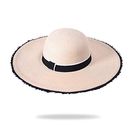 Grande cappello a tesa larga/Cappelli Derby/Ping cappello da sole, sole/Cappelli di vacanza/Cappelli della spiaggia-A