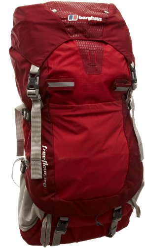 Berghaus Freeflow Pro 40 Mens Rucksack - Extrem Red/Cranberry, 40Lt