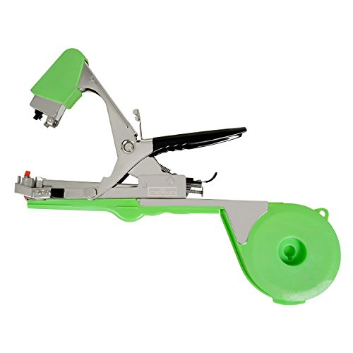 Creaker Agriculture Tapener Plant Tying Tool Tape Tool Hand Tying Machine for Fruit Flower Vegetable Vine Tomato Metal with Tape & Staples (Fruit Gun compare prices)