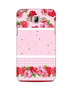 Pick Pattern Back Cover for Samsung Galaxy J7 (MATTE)