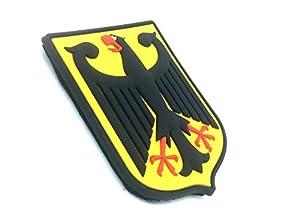 Royale Allemande Aigle Impérial Allemagne Blason Drapeau Airsoft Velcro PVC Patch