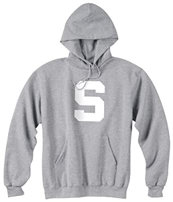 NCAA Michigan State Spartans Powerblend Hood, Grey, Medium by Champion