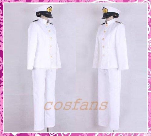 コスプレ衣装 大日本帝國擬人化海軍深夜隊 戦艦大和 女性Lサイズ