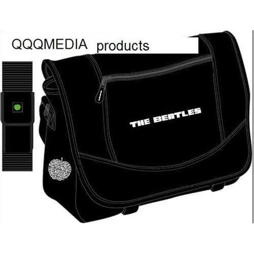 Beatles Black Messenger Bag