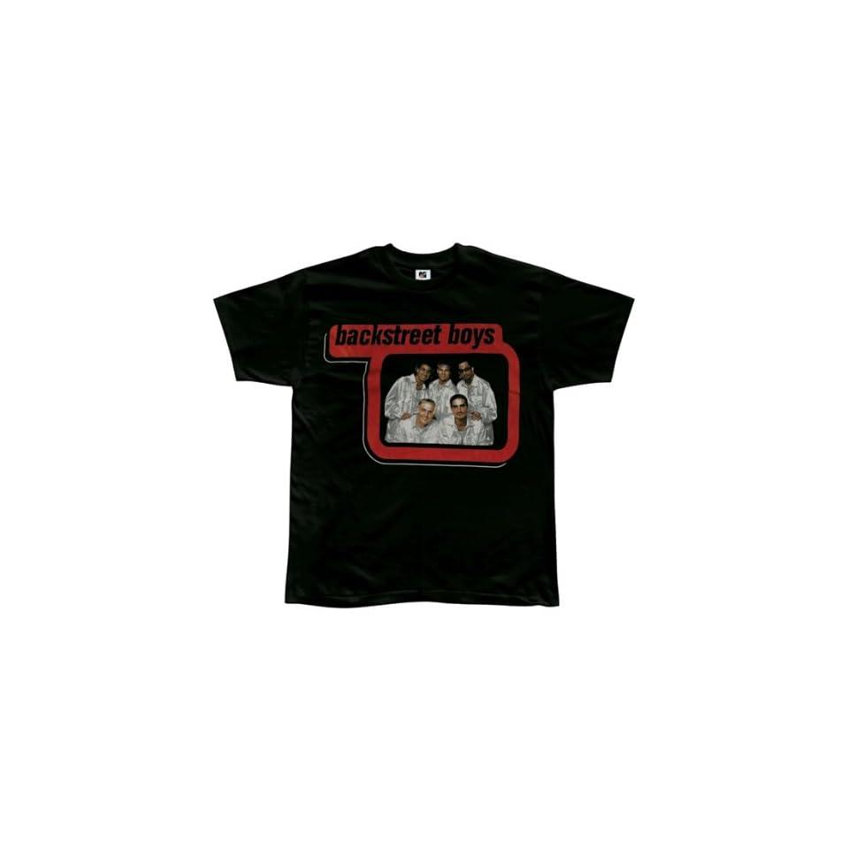 Backstreet Boys White Jacket T Shirt Small Clothing on PopScreen